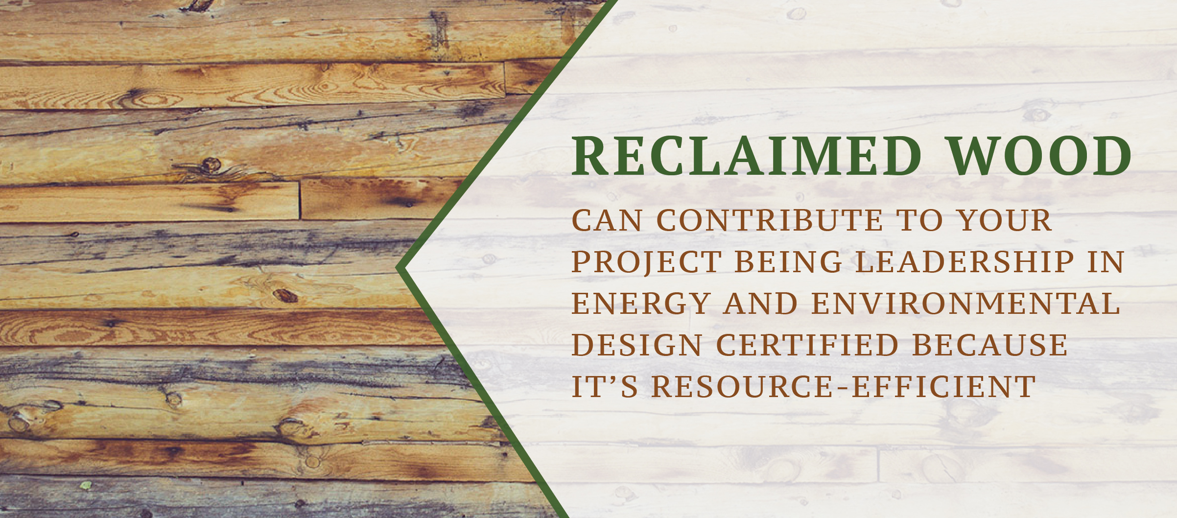 Reclaimed Wood Flooring Can Help with LEED Certification