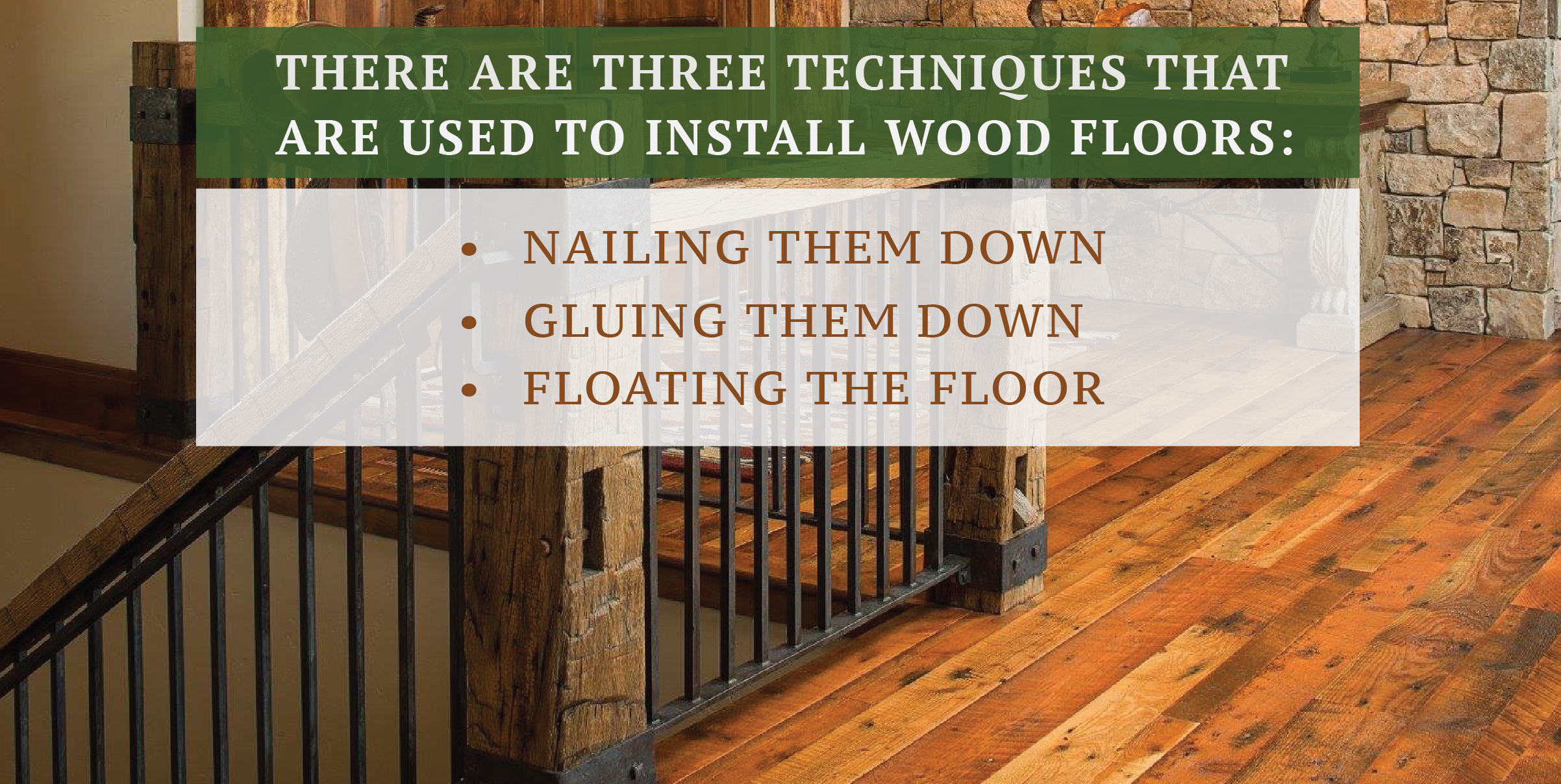 Chapter 6 How To Install Hardwood Floors Lay A Floor Methods Of Installing Wood Flooring